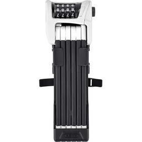 ABUS Bordo Combo 6100/90 SH Fietsslot wit/zwart